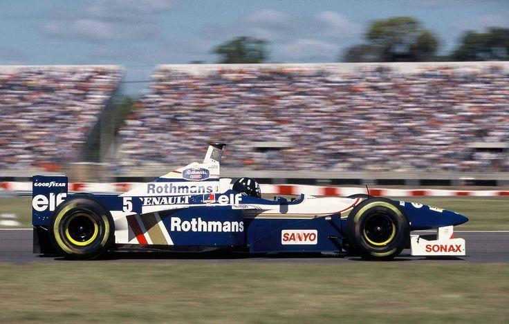 1996 damon hill rothmans williams team renault fw18 for Damon racing