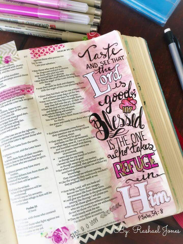 Bible journaling.
