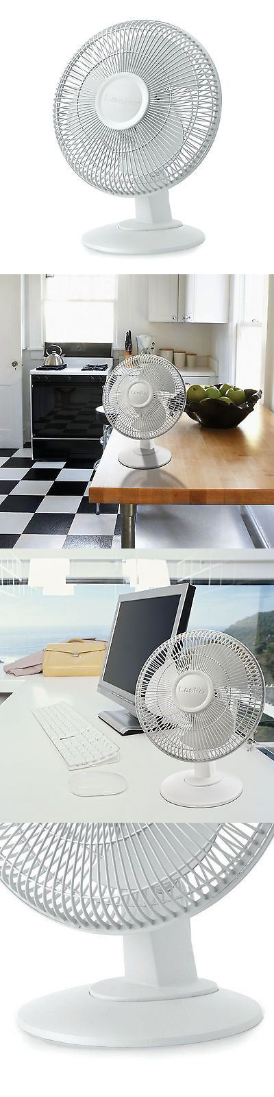 Portable Fans 20612: Lasko 12 Inch 3-Speed Ultra Quiet Oscillating Table Top Desk Fan, White   2012 -> BUY IT NOW ONLY: $33.99 on eBay!