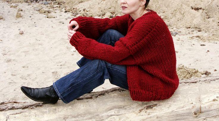 Nudakillers - rzeczy raczej niecodzienne... chunky sweater, big cardigan, oversized sweater, classic cardigan