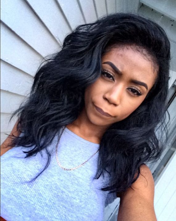 Fabulous 1000 Images About Short Medium Length Sew In Hairstyles On Hairstyle Inspiration Daily Dogsangcom