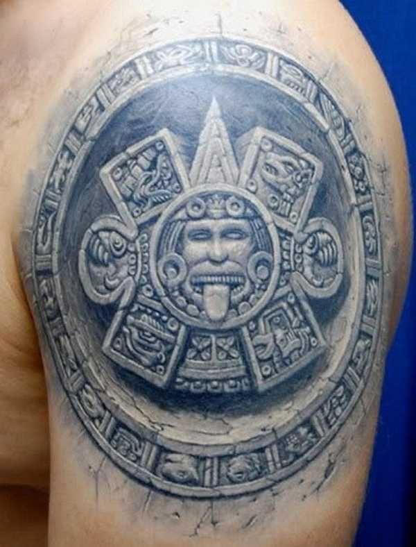ber ideen zu azteken tattoo auf pinterest maya. Black Bedroom Furniture Sets. Home Design Ideas