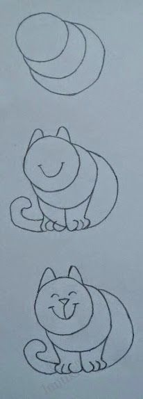 #Como #dibujar un #gato! #How #drawing a #cat
