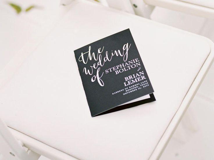 18 best Wedding Program images on Pinterest Butterfly, Wedding - wedding brochure template
