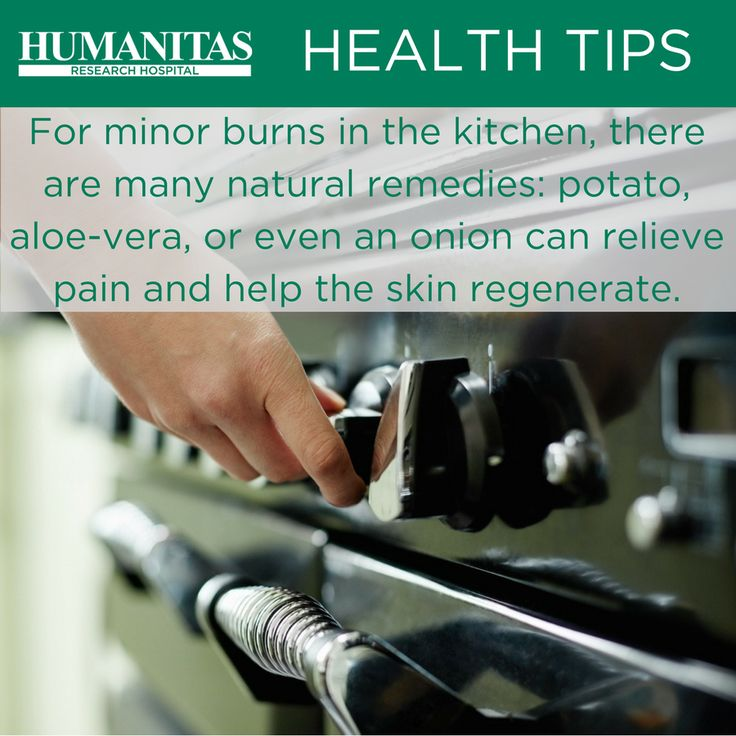A few first aid tips for minor burns. Follow the link for first aid tips in case of a serious burn.