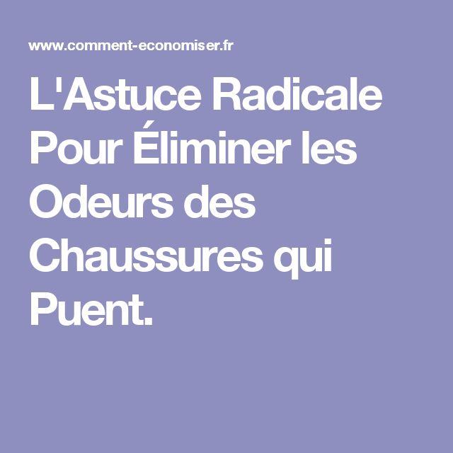 L'Astuce Radicale Pour Éliminer les Odeurs des Chaussures qui Puent.