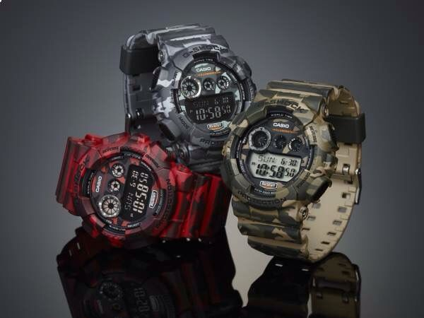 Army Casio G-shock protection