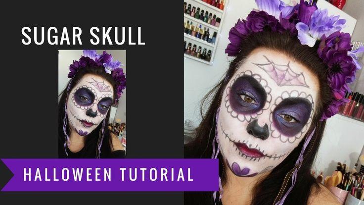 Maquillage Halloween : Sugar skull (2016)