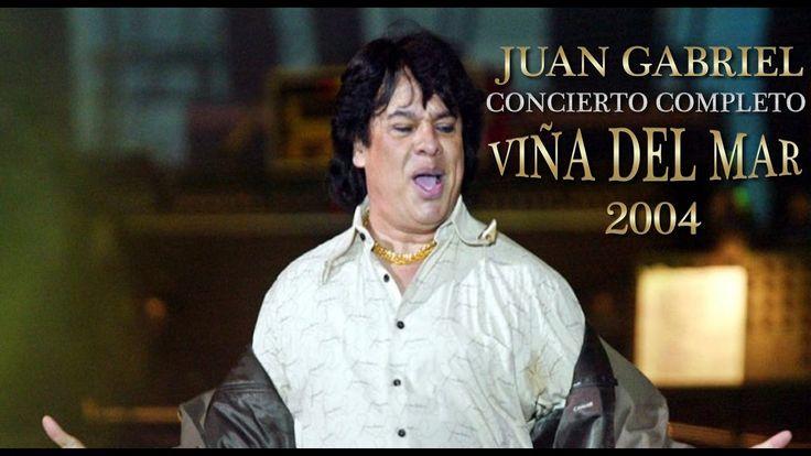 Juan Gabriel en Viña del Mar 2004   Concierto Completo