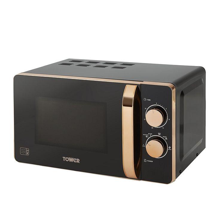 Black and <b>Rose Gold</b> Microwave | <b>Rose Gold</b> в 2019 г. | Кухня