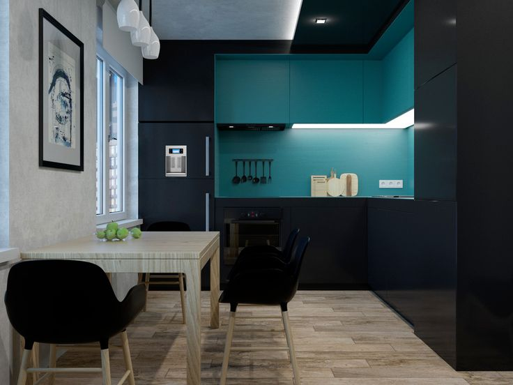 Kithcen for flat on Moscow.