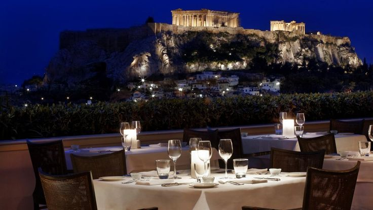 I will be eating here May 2014....cannot wait. GB Roof Garden Restaurant - Athens Greece