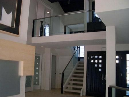 INTERIOR glass staircase railing - Google Search