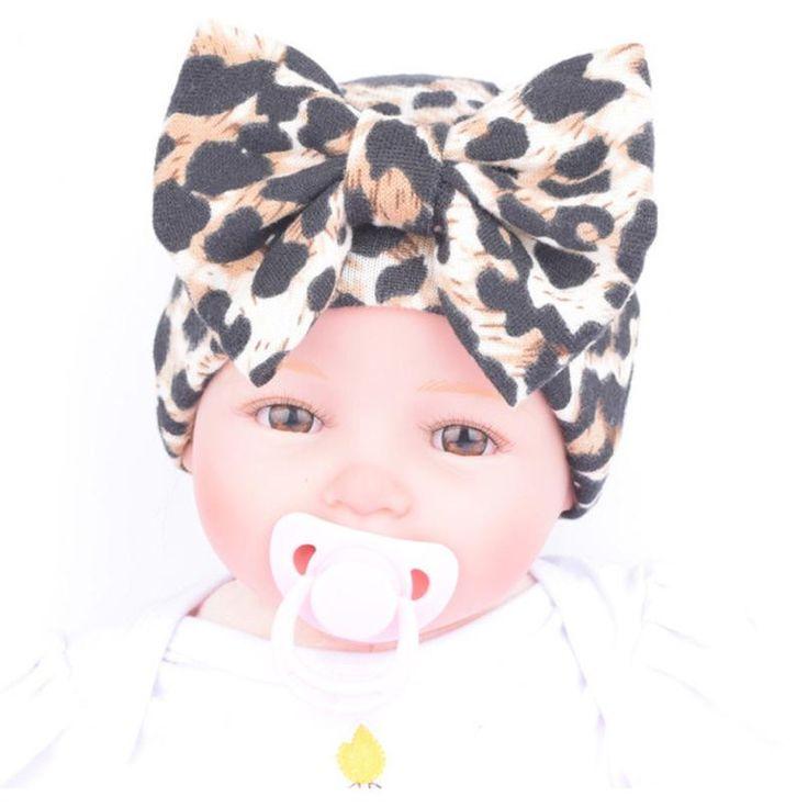 Newborn Baby Bow Hats