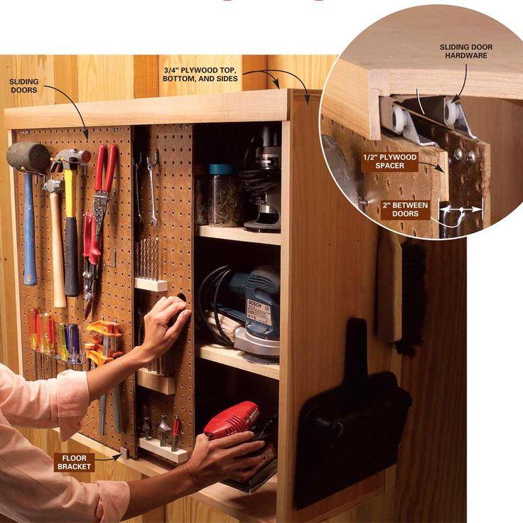 730 Best Images About Wood Shop/Garage Storage Ideas On