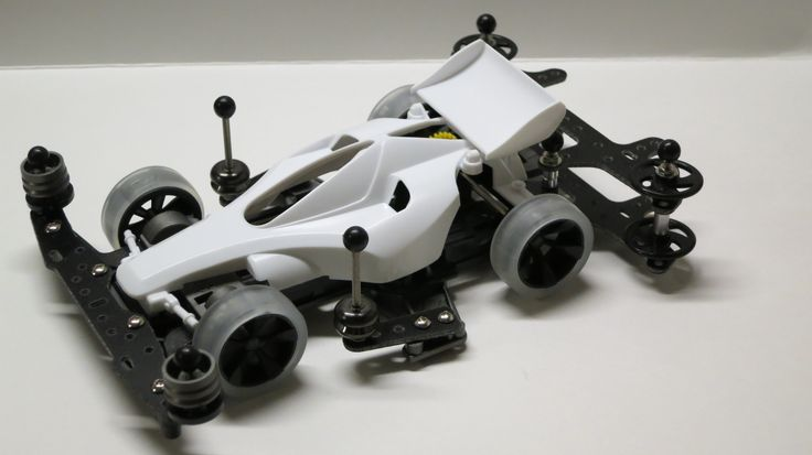 Tamiya 1/32 MINI 4WD Azente Progress Super-II Chassis