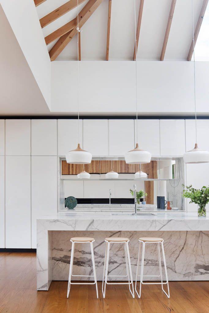 Minimalist inspired kitchen