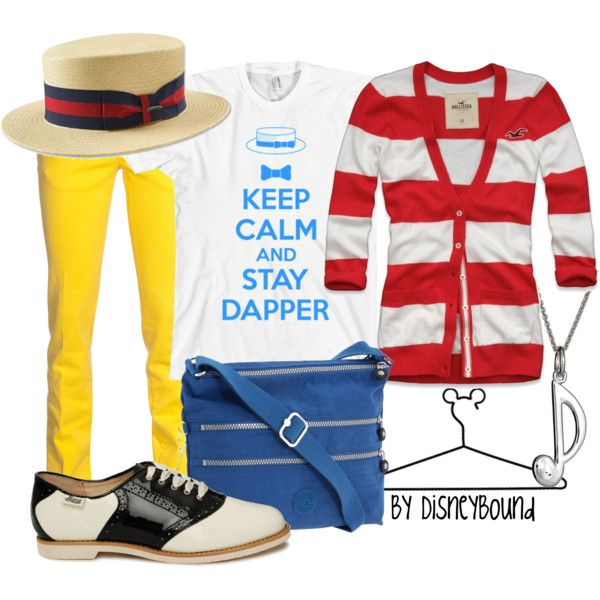 Dapper Dans, created by lalakay on Polyvore #disney