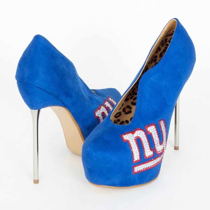 new york giants womens heels image