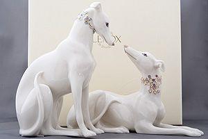 Greyhound Store Collectible Lenox Greyhound Figurines
