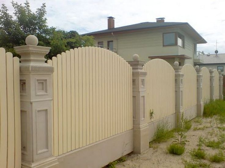 50+ Awesome Modern Fence Design_52