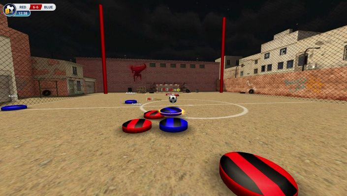 Ball 3D Soccer Online is a Free-to-play Sport, Soccer Multiplayer Online Game