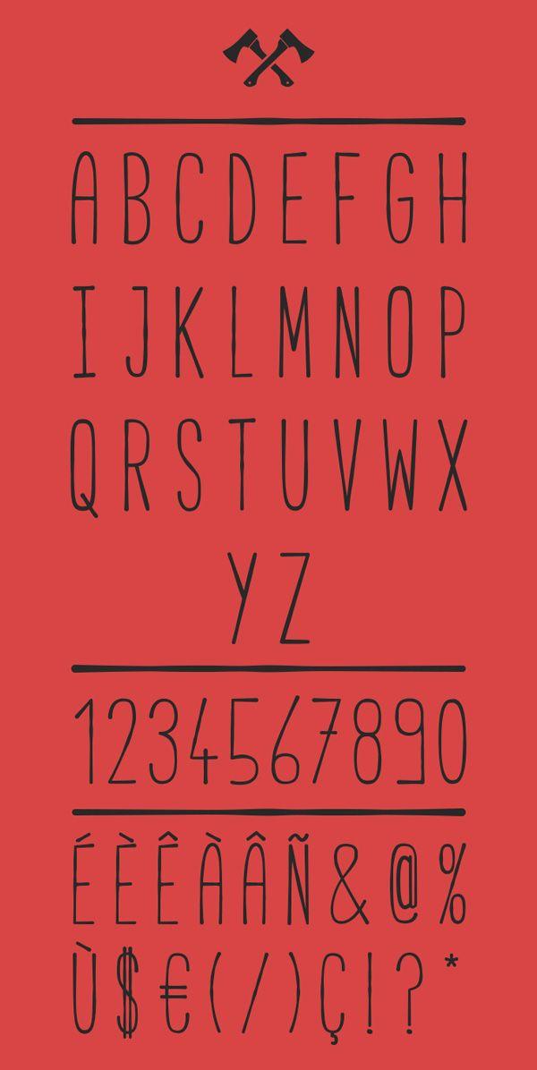 Cabana Font Letters #freefonts #fontsfordesigners