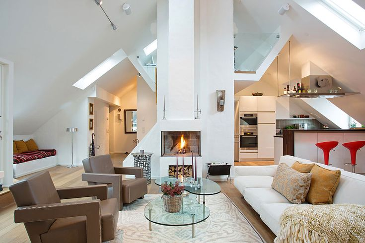 Details interior The $2.5 Million Tastefully Decorated Swedish Loft Exuding Coziness