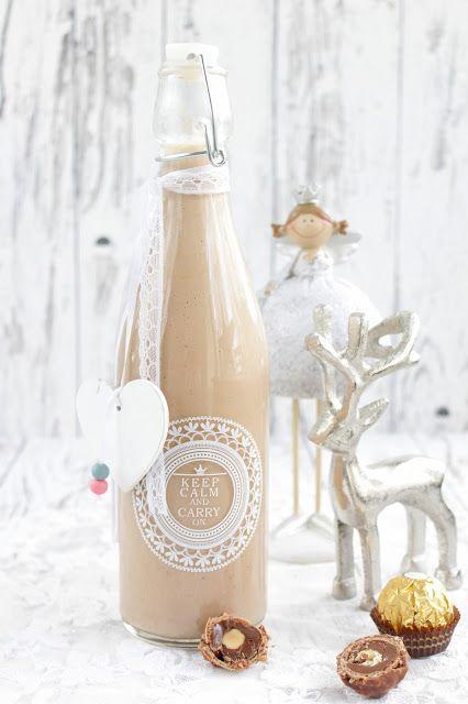 Rezepte mit Herz: Ferrero Rocher Likör ♡
