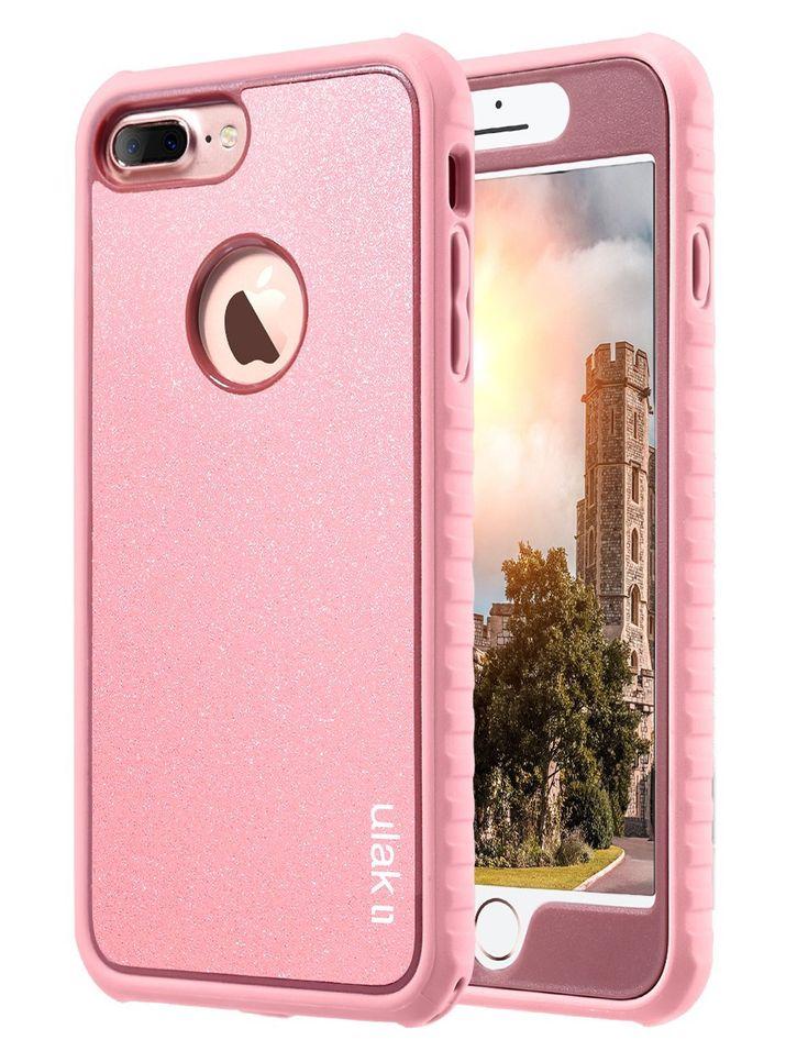 IPhone 7 Plus Case ULAK Shockproof Flexible TPU Bumper Durable Anti Slip Slim