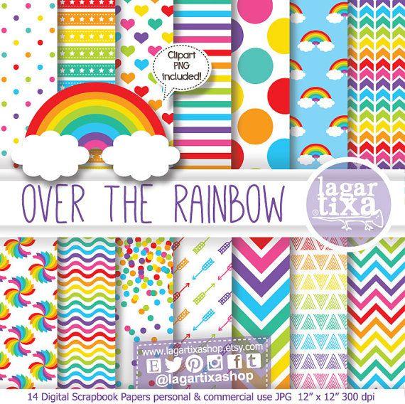 Guarda questo articolo nel mio negozio Etsy https://www.etsy.com/it/listing/216273901/sfondo-carta-digitale-arcobaleno-cuori