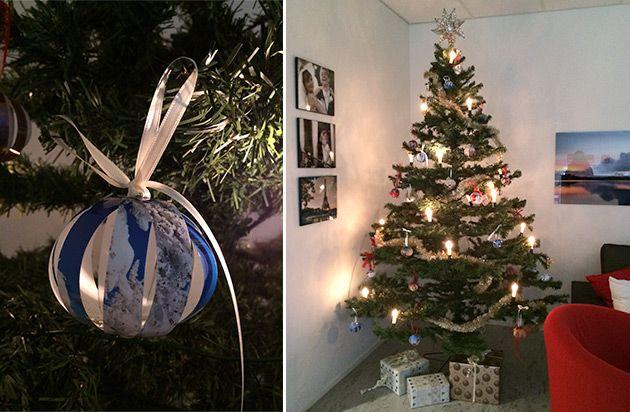 Tee itse joulupallot valokuvista! Joulukuusen koristeet syntyvät pienellä vaivalla ja ovat taatusti persoonalliset. DIY-ohjeet: http://www.ifolor.fi/inspire_joulupallot_valokuvista