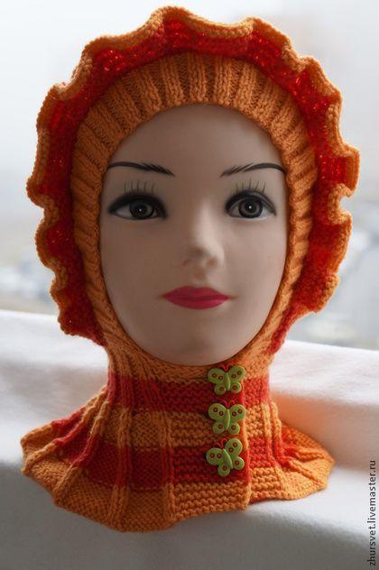 Одежда для девочек, ручной работы. Ярмарка Мастеров - ручная работа Капор - шлемик. Handmade.