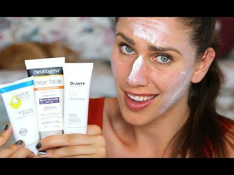 6 Best Sunscreens For Acne Prone Skin That Wont Cause Breakouts | Cassandra Bankson - YouTube
