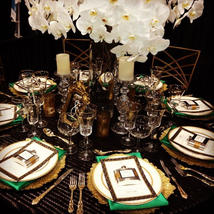 Table Setting For Wedding Reception Pictures: 28 Best Emerald Cream Gold Wedding Images On Pinterest