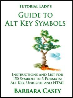 How to Make Keyboard Symbols Using Alt Key, HTML and Unicode Characters - List and Instructions
