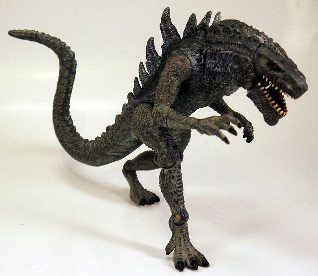 Godzilla 1998 Toy | Godzilla toys, Godzilla figures ...