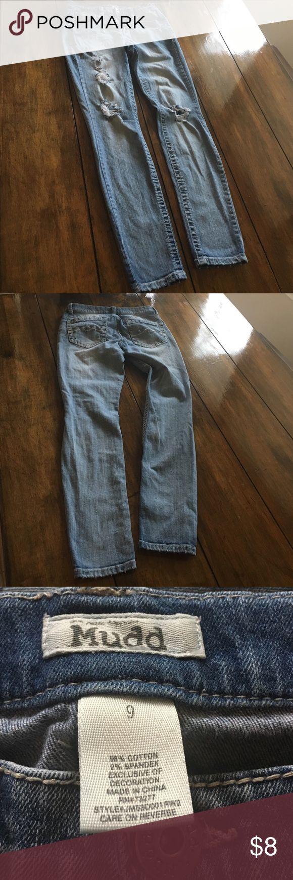Mudd stretch jeans Distressed stretch jeans Mudd Jeans Skinny