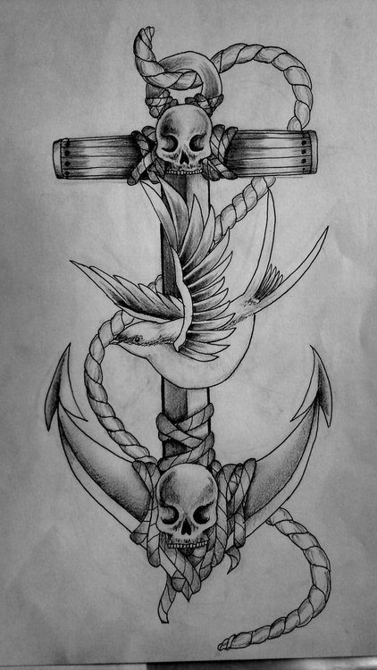 18 Best Images About Anchor Sketches On Pinterest Tattoo Drawings Old School And Lets Go