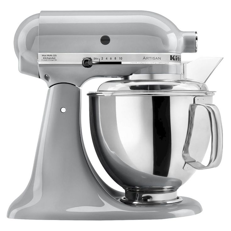 Kitchenaid Series 5 Quart Tilt Head Stand Mixer Ksm150 Metallic Chrome