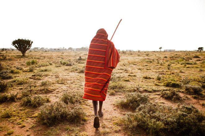 Home to the Maasai: Inside Kenya's Maji Moto community