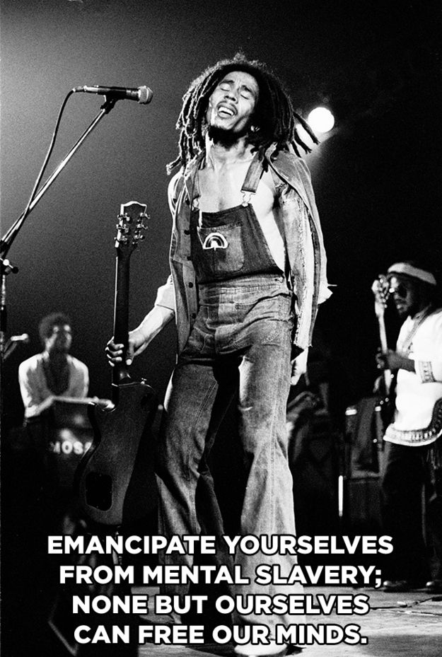 """15 Bob Marley Lyrics To Live By - From """"Redemption Song"""""""