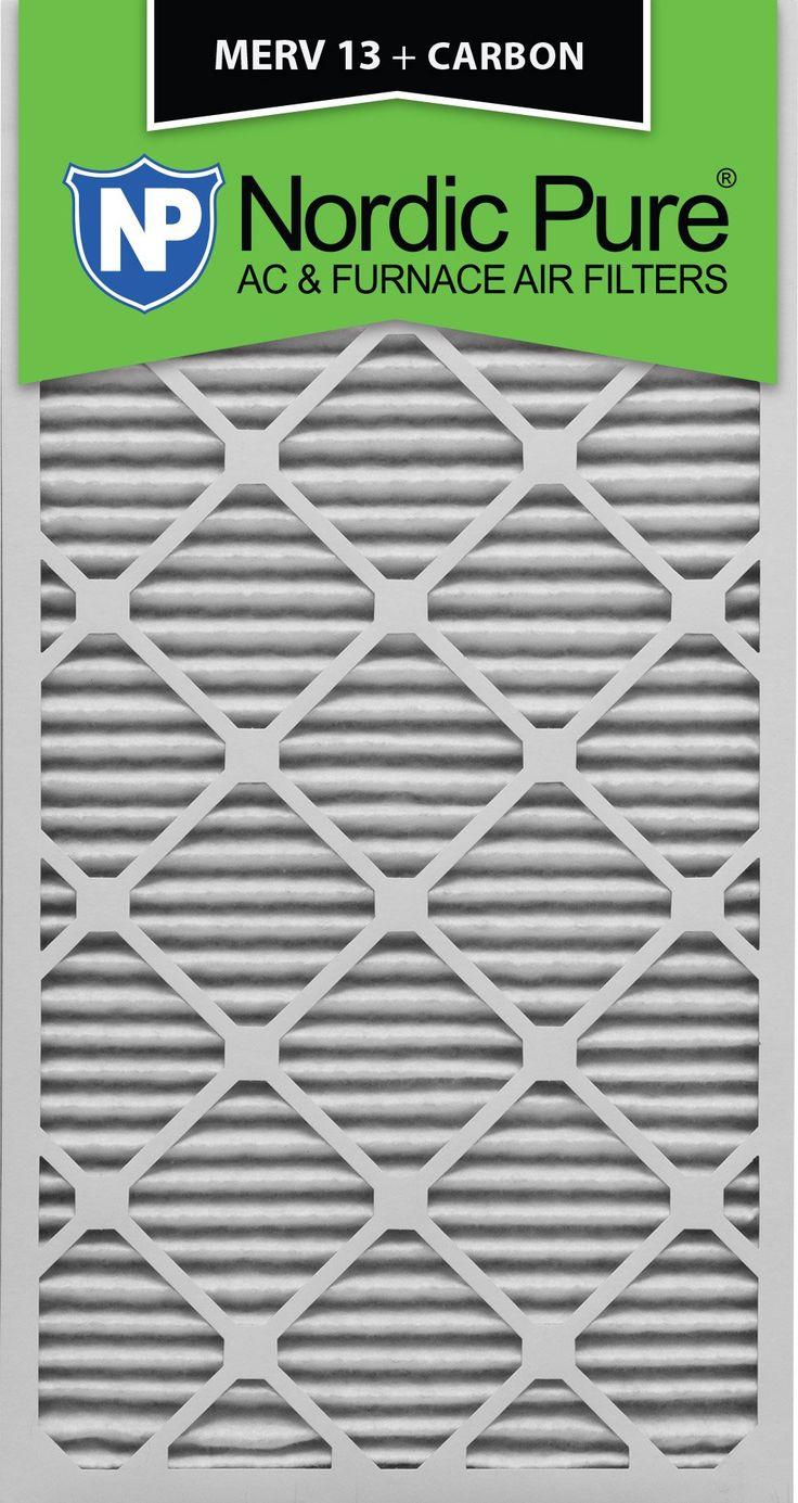 Nordic Pure 18x30x1 MERV 13 Plus Carbon Pleated AC Furnace