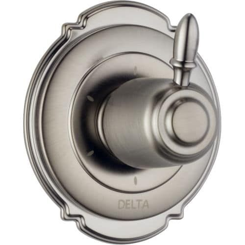 Delta T11955 Victorian Six Function Diverter Valve Trim - Three Independent Positions, Three Shared Positions (