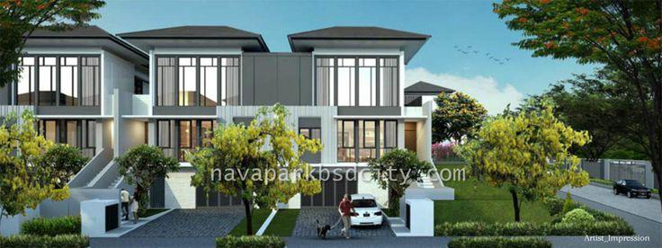 Rumah Lakewood Tipe 10 NavaPark BSD