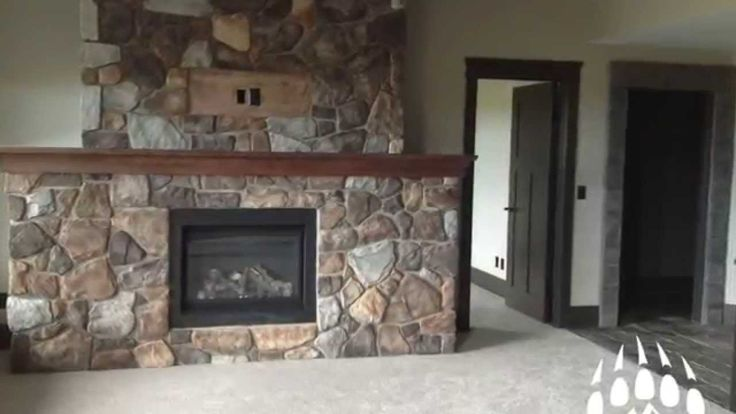Kodiak Mountain Stone Fireplaces Nov 2014 | If you are thinking of a new fireplace, this is a great video to watch to get some great ideas