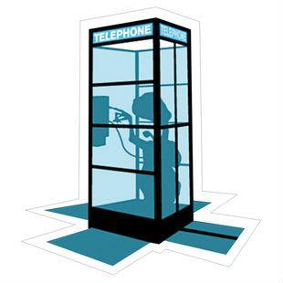Min. order составляет 10 (заказ смешивания) Эксклюзивный Продаж И ДР., телефонная будка Box Водонепроницаемый наклейки Персонализированные наклейки ноутбук [Один]