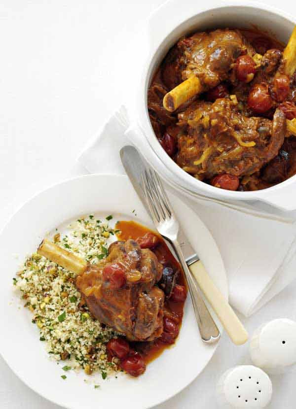 This slow-cooked lamb tagine is the perfect freeze-ahead main: make double, put half in the freezer and you'll always have something good to eat during the holidays.