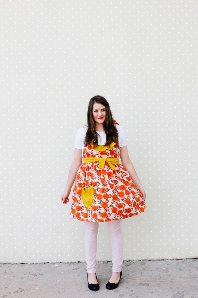 FREE apron pattern. Easy to sew! seekatesew.com