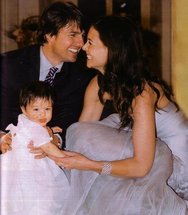 Tom Cruise And Katie Holmes Cute Couple